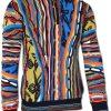 Carlo Colucci C11502 Sweater Marine Blauw