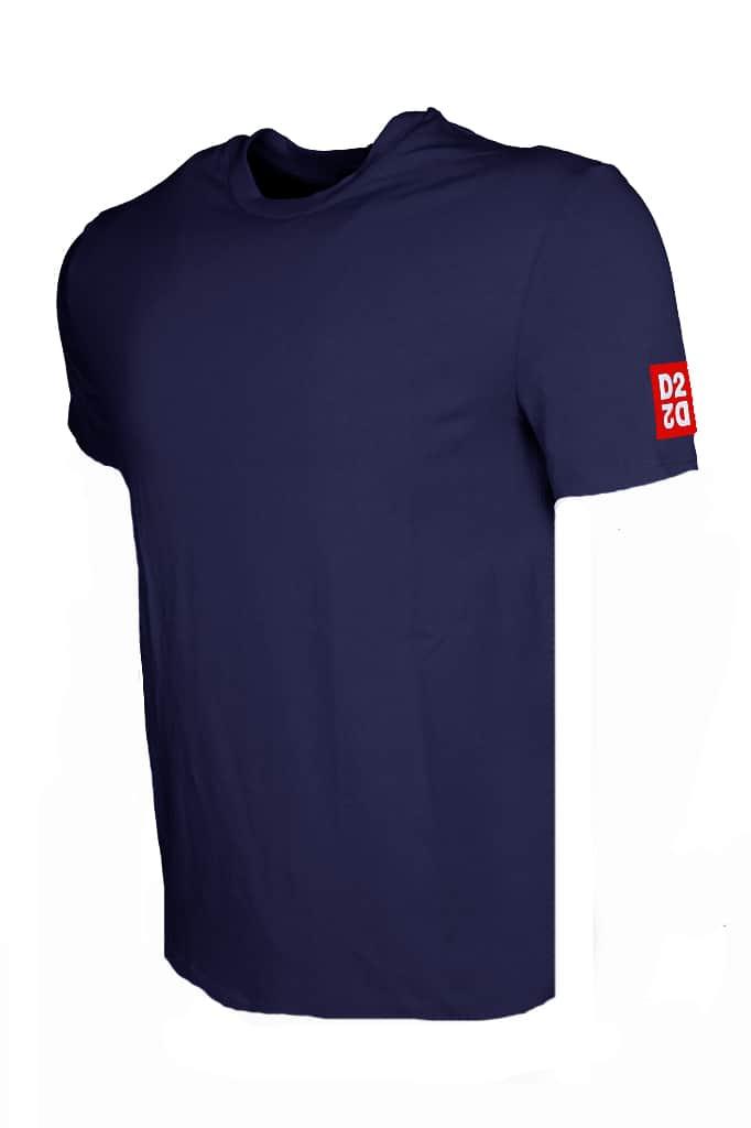 Dsquared Round Neck T-Shirt Blauw