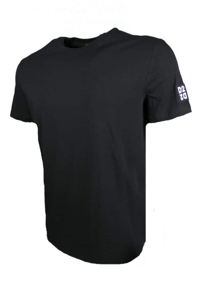 Dsquared Round Neck T-Shirt Zwart