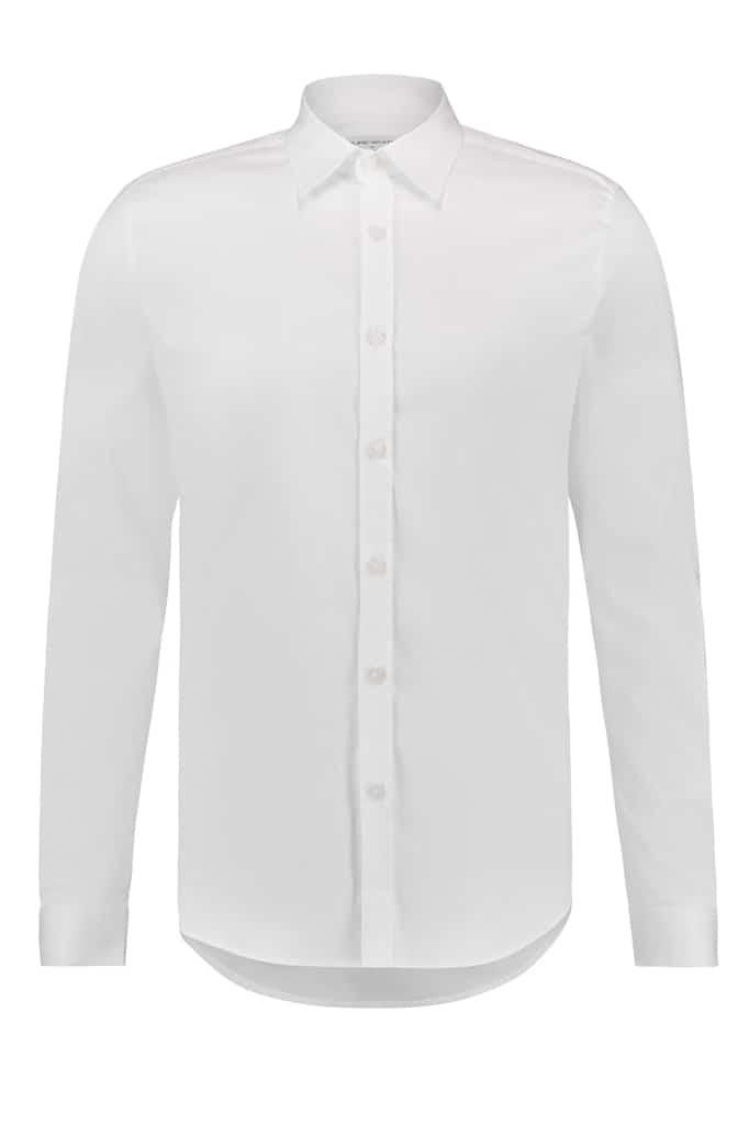 Purewhite Essential Shirt Wit