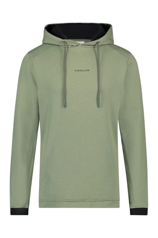 Purewhite Sweater Reversed Logo