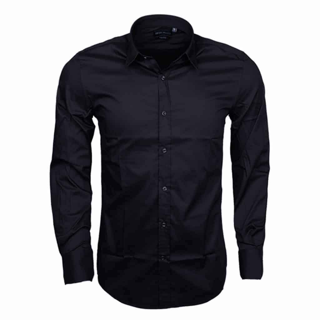 Antony Morato Overhemd Donkerblauw