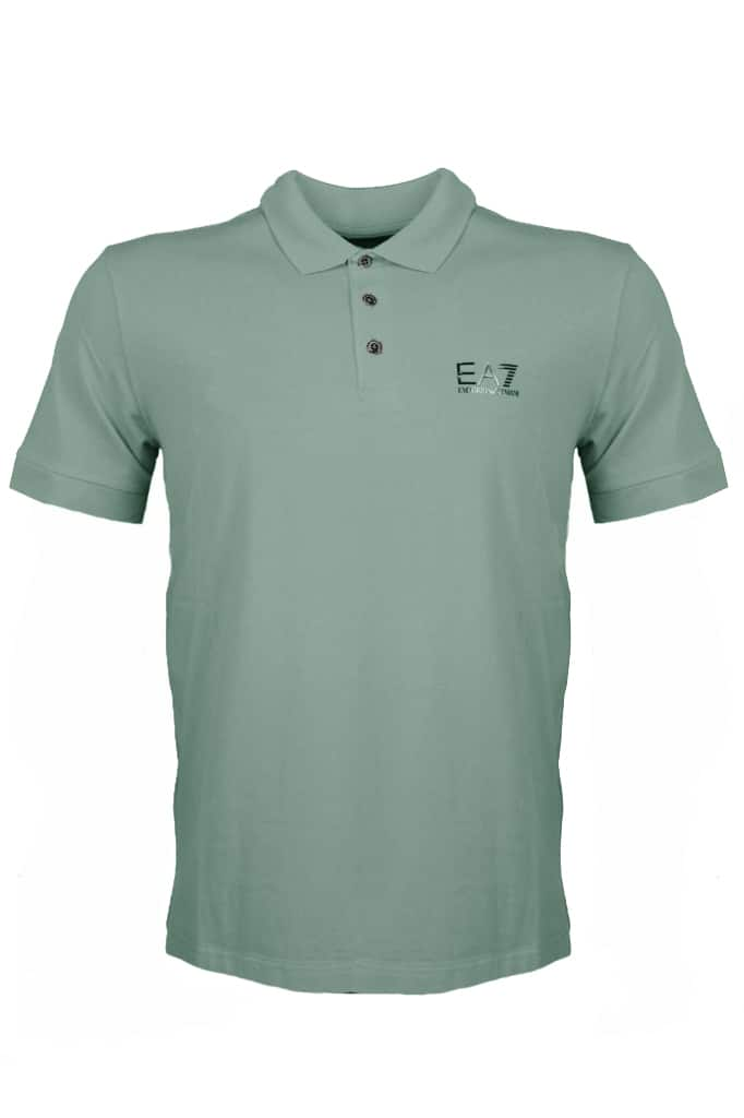Armani EA7 Polo Shirt Logo