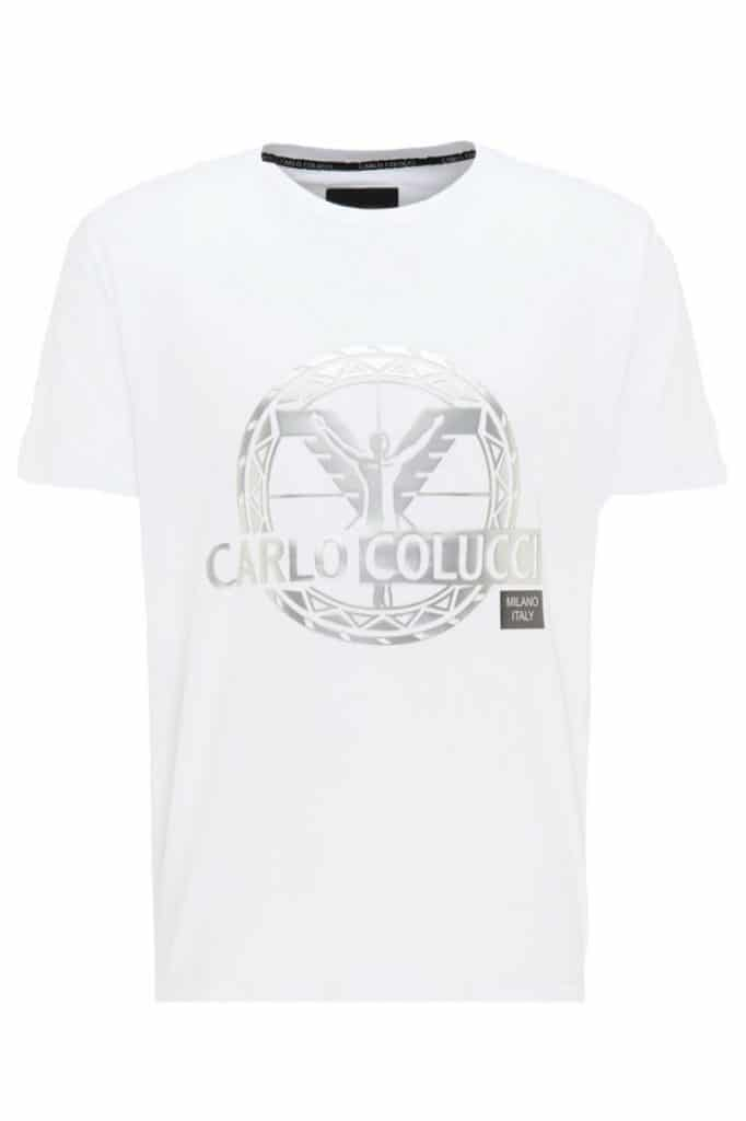 Carlo Colucci T-Shirt Wit