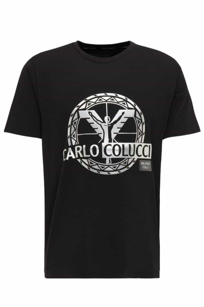 Carlo Colucci T-Shirt Zwart