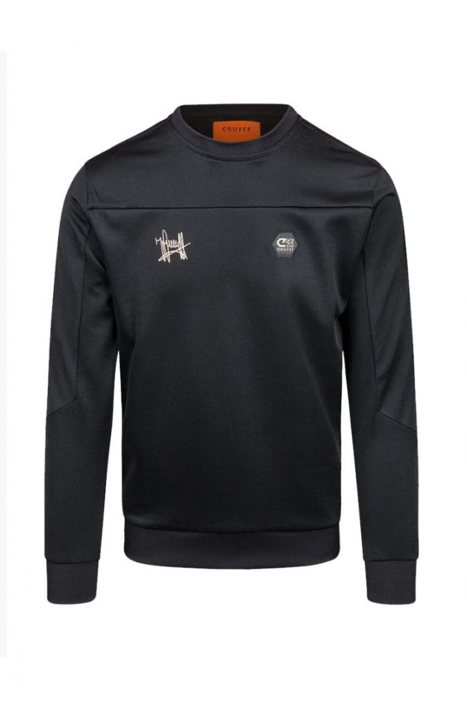 Cruyff Carreras Crewneck Sweater Zwart