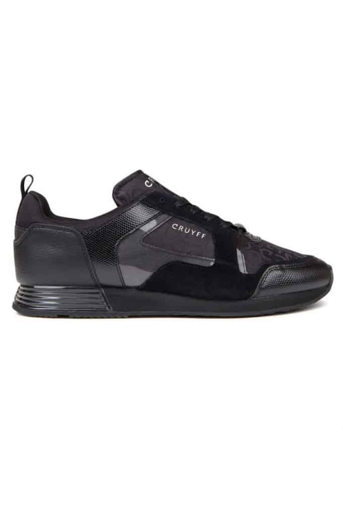 Cruyff Lusso Logoprint Sneakers Zwart