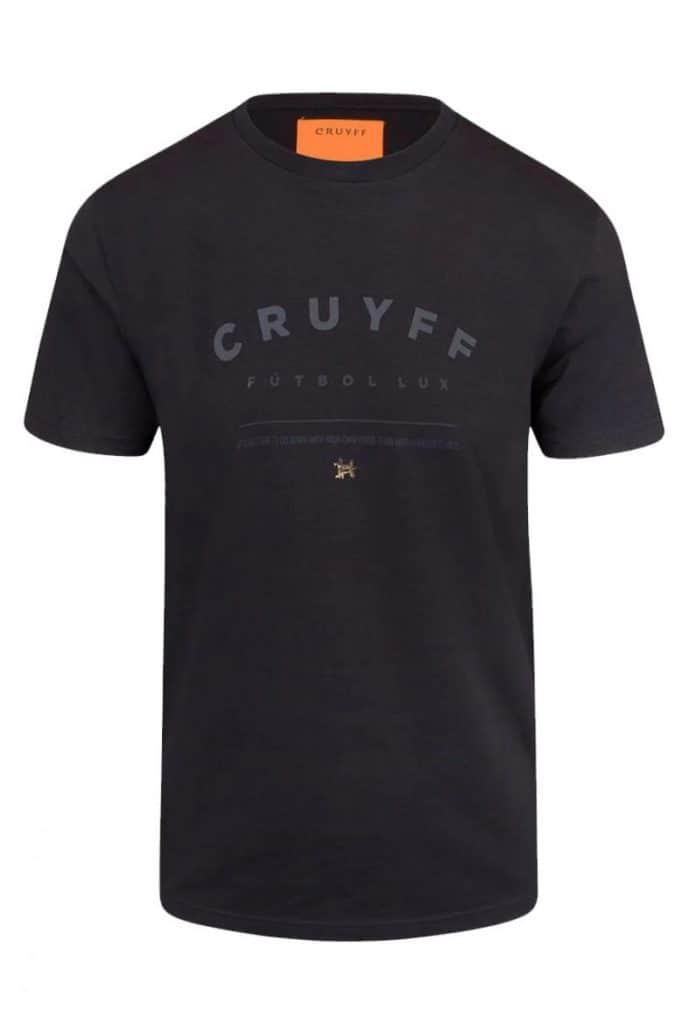 Cruyff Terras T-shirt Zwart