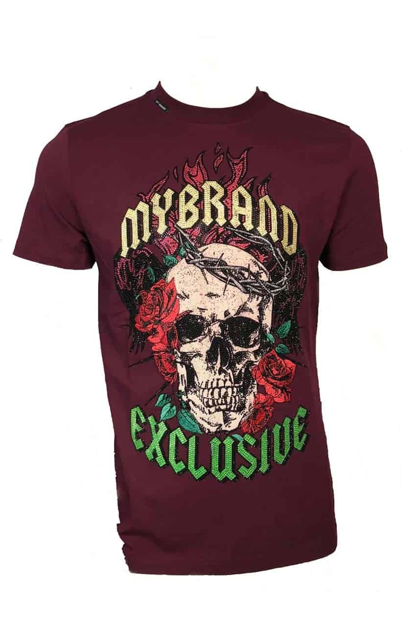 My Brand Skull Tye Dye T-Shirt