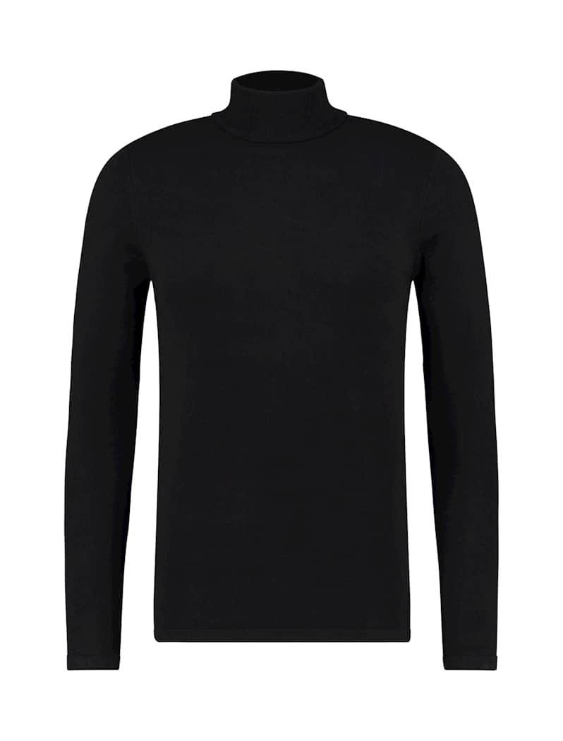 Purewhite Turtleneck Zwart