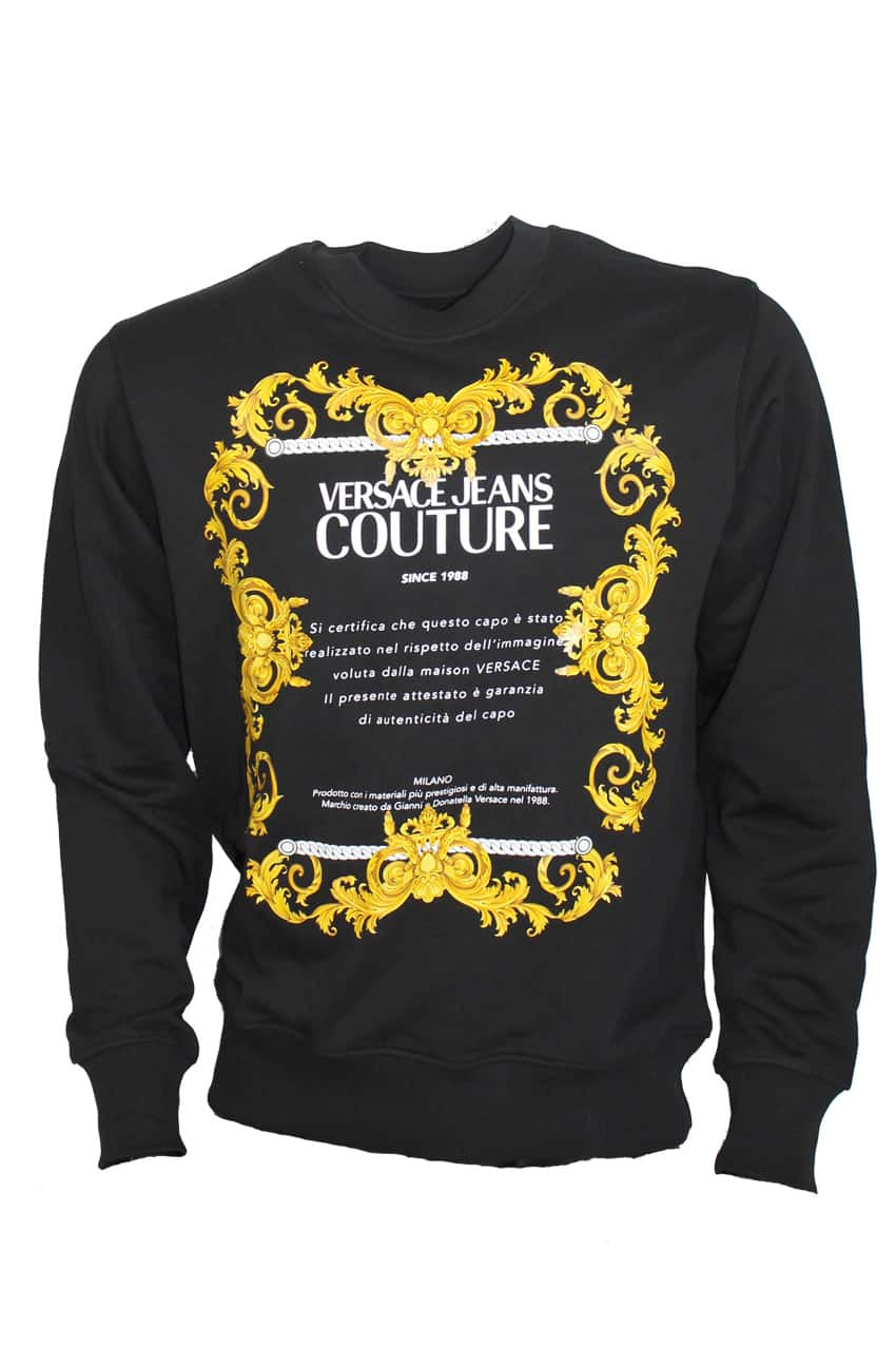 Versace Jeans Couture Baroque sweater