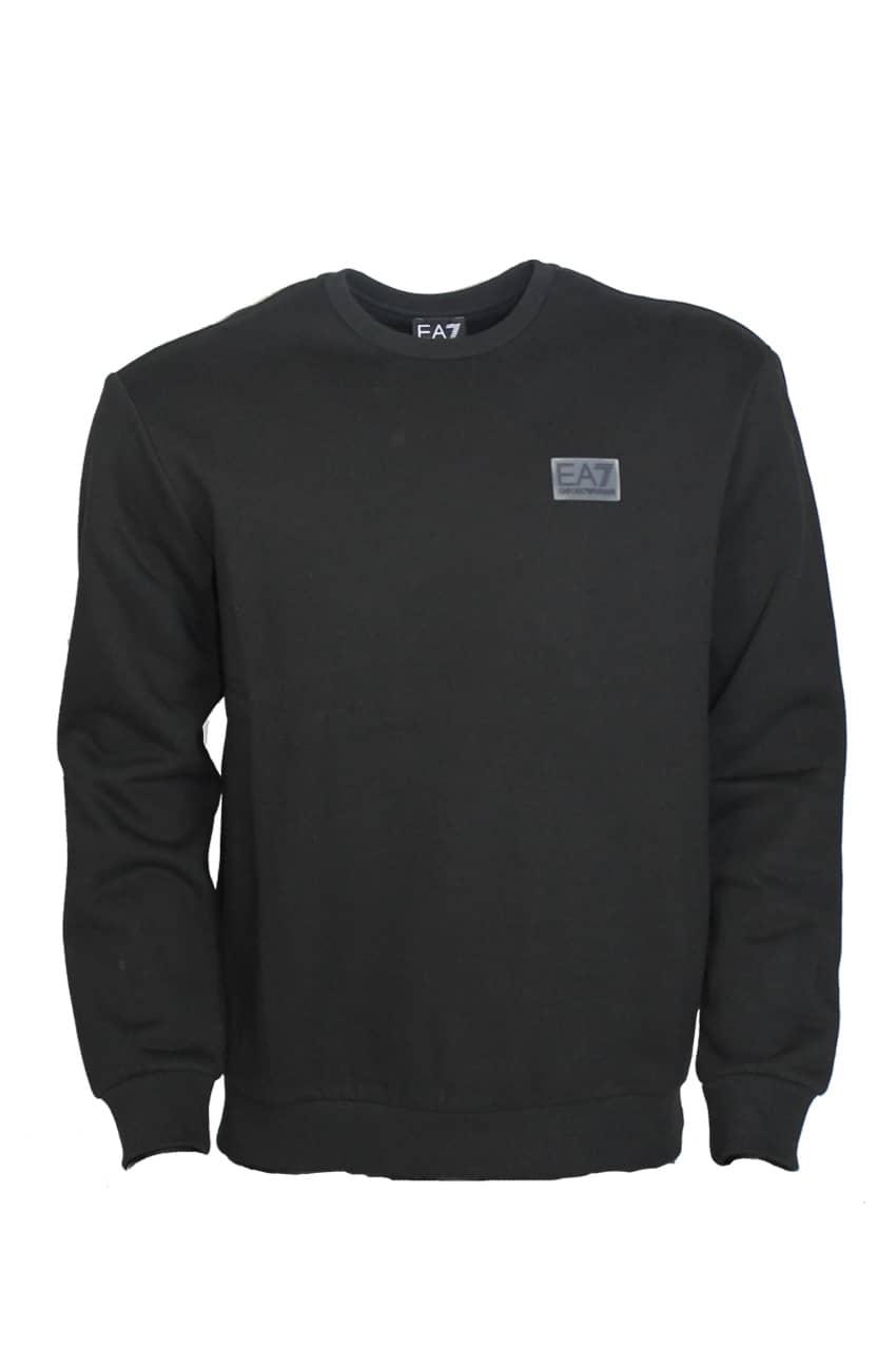 Armani EA7 Logo Sweatshirt Zwart