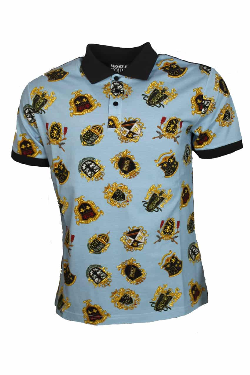 Versace Jeans Couture Polo Blue