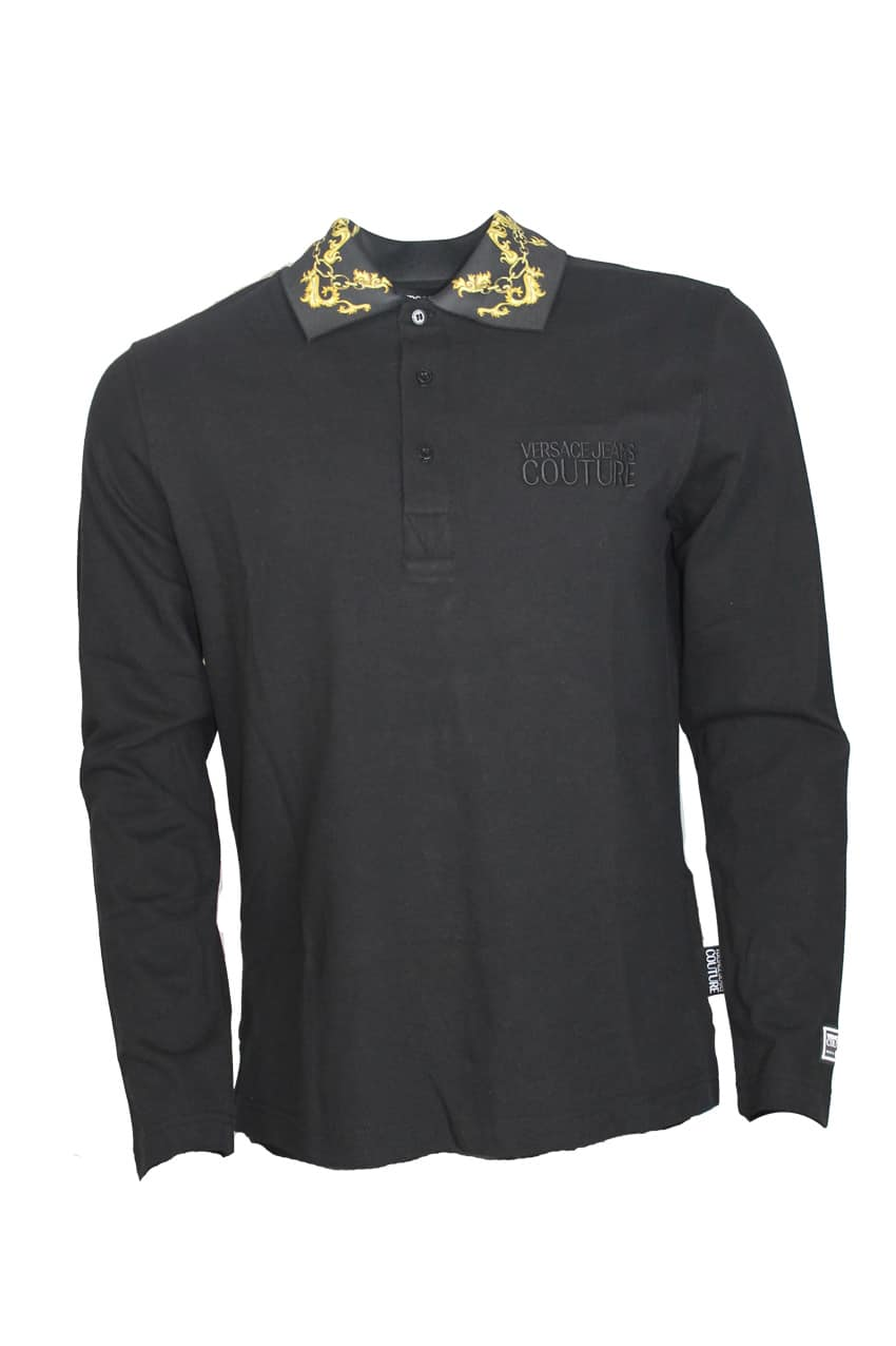Versace Jeans Couture Polo Black