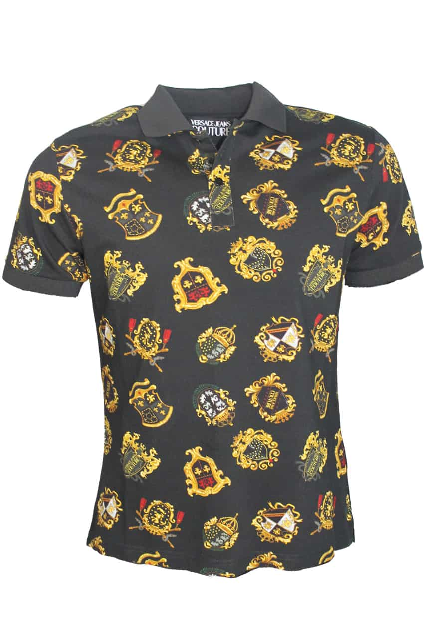 Versace Jeans Couture Polo Print