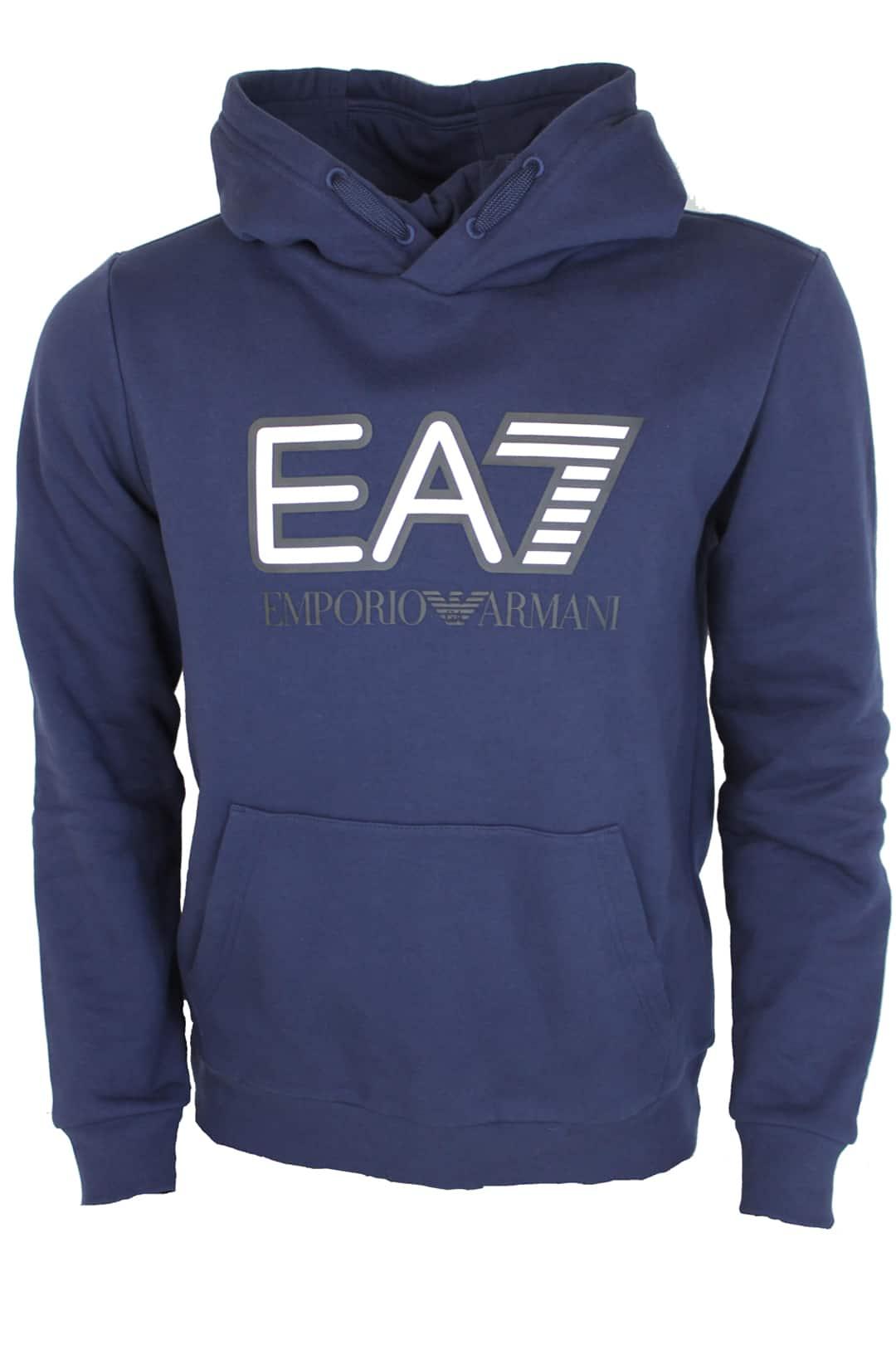 Armani EA7 Hoodie Blauw