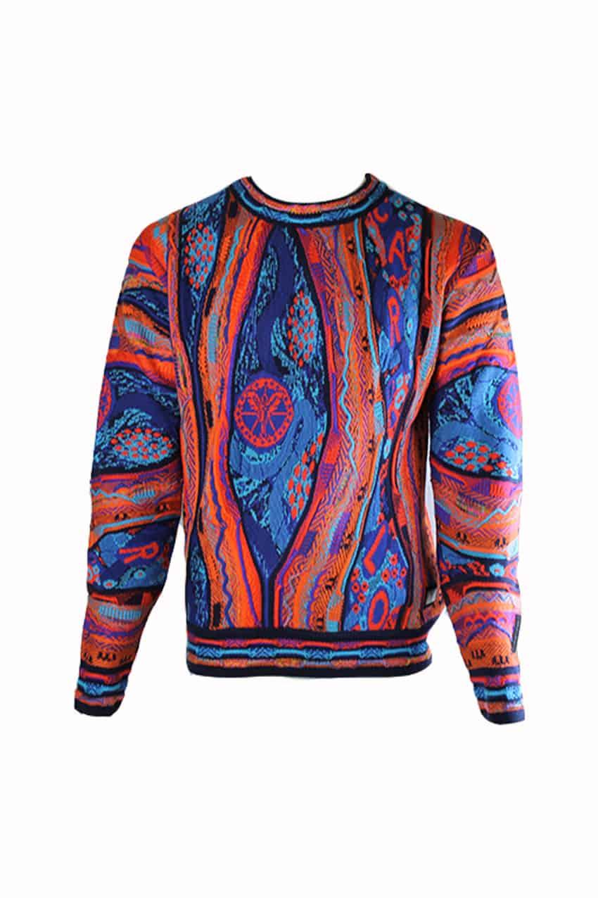 Carlo Colucci Sweater C9805 Orange