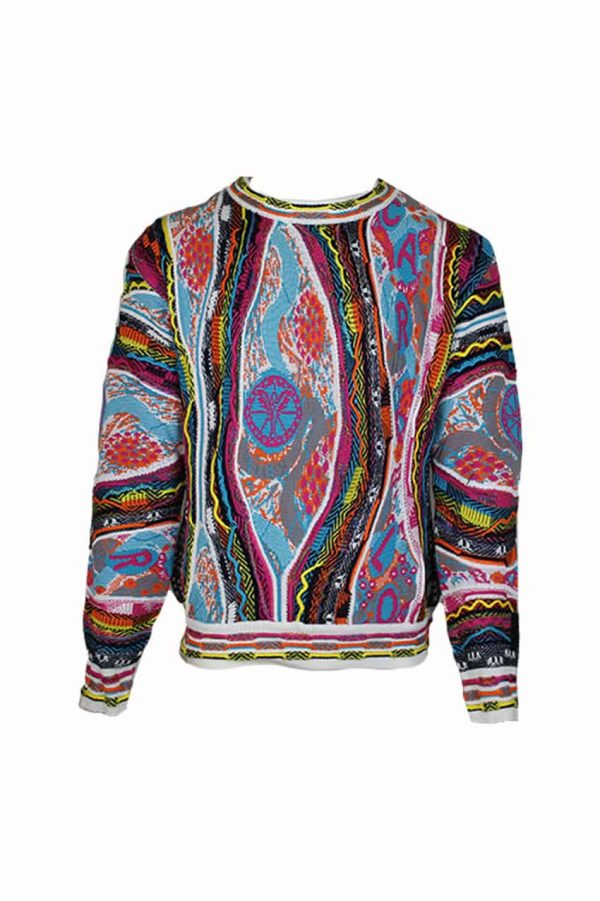 Carlo Colucci Sweater C9805 Wit