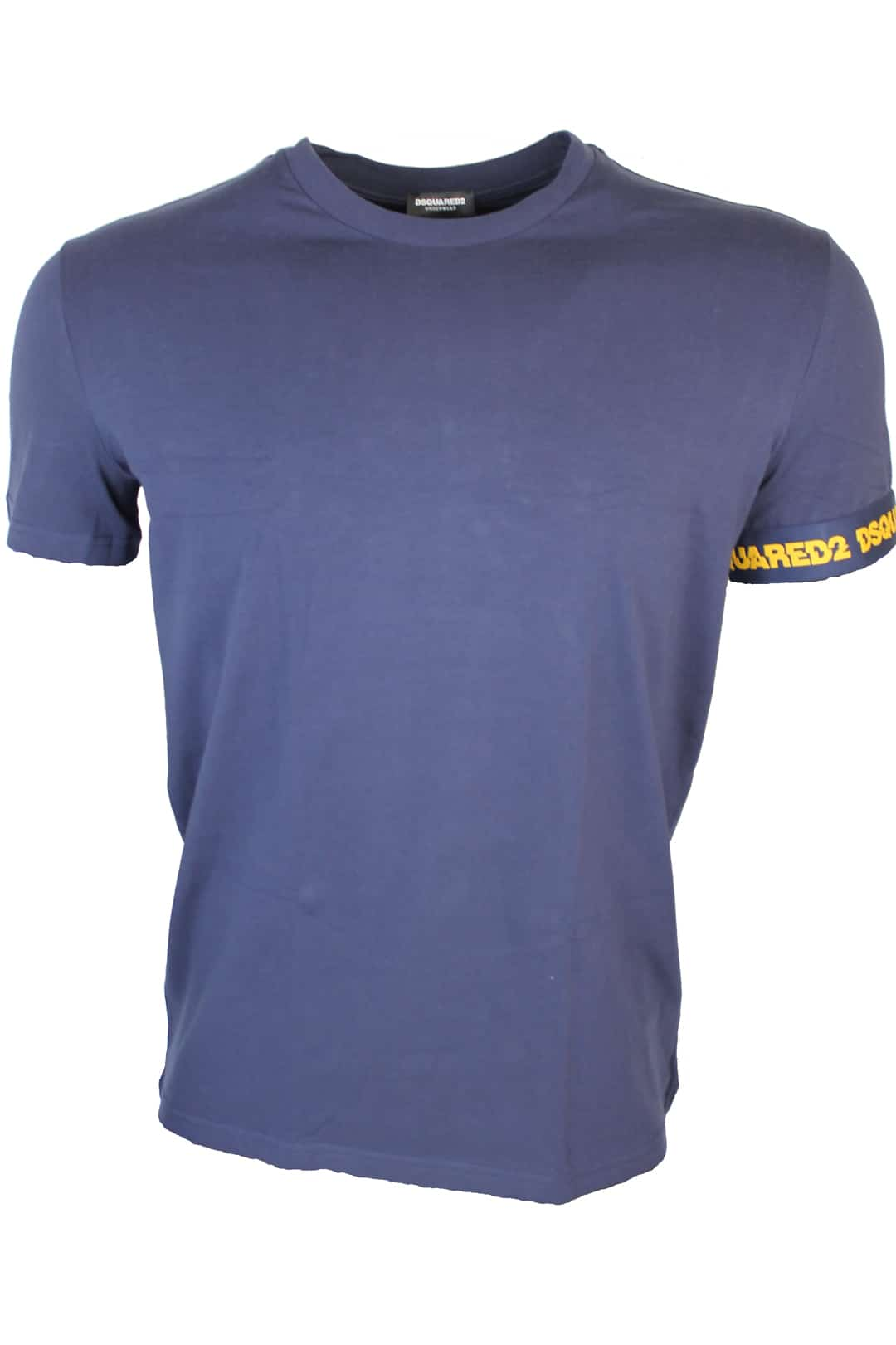 Dsquared Shirt With Logotape Blauw