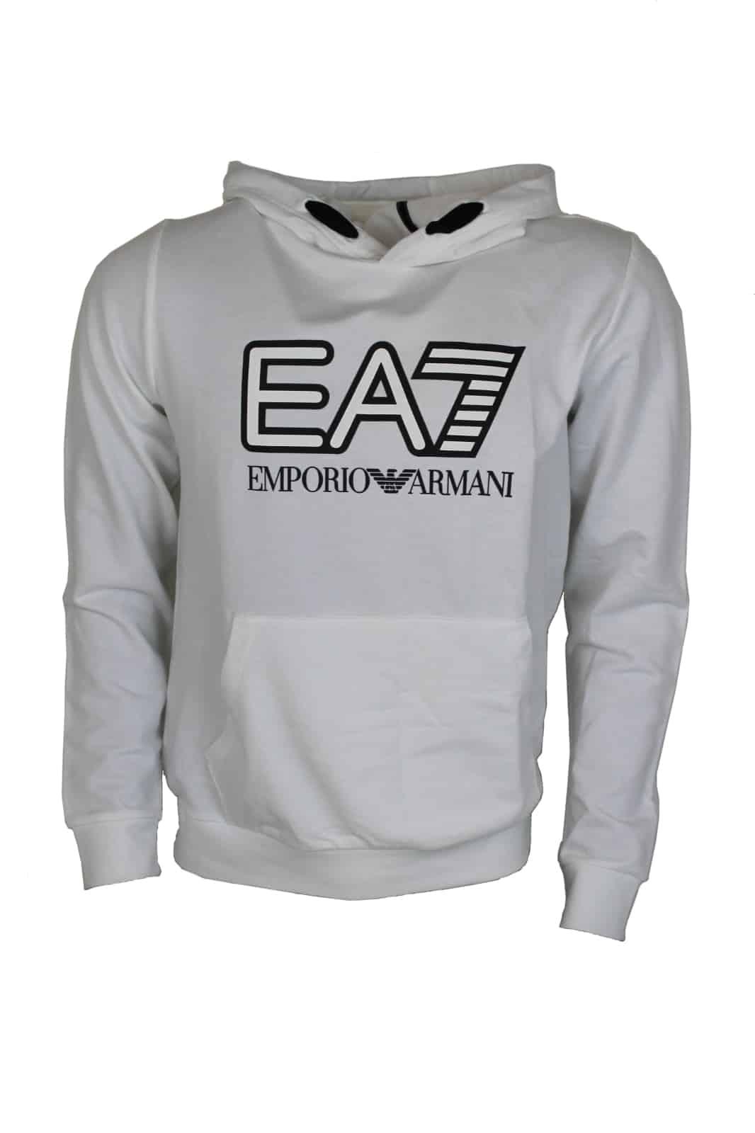 Armani EA7 Hoodie Wit