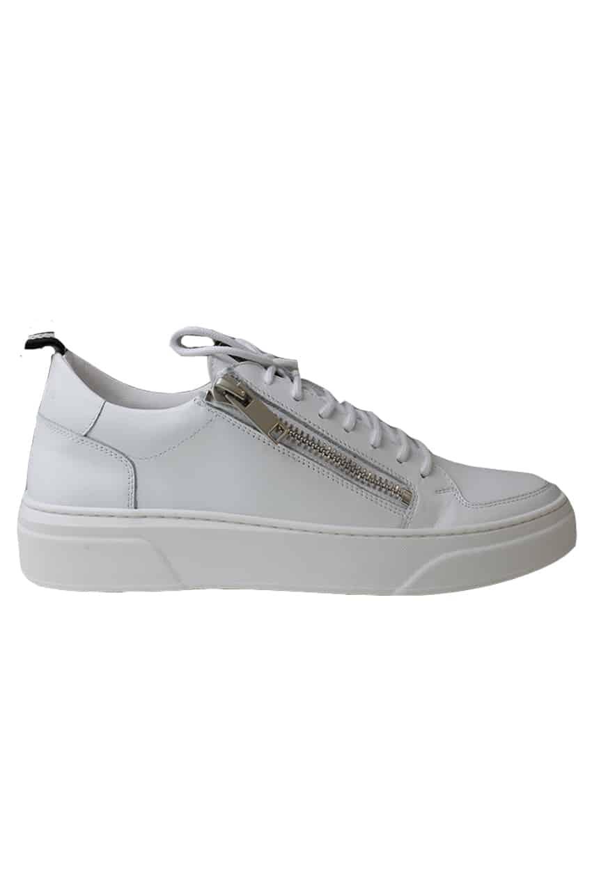 Antony Morato Sneakers Wit Met Rits