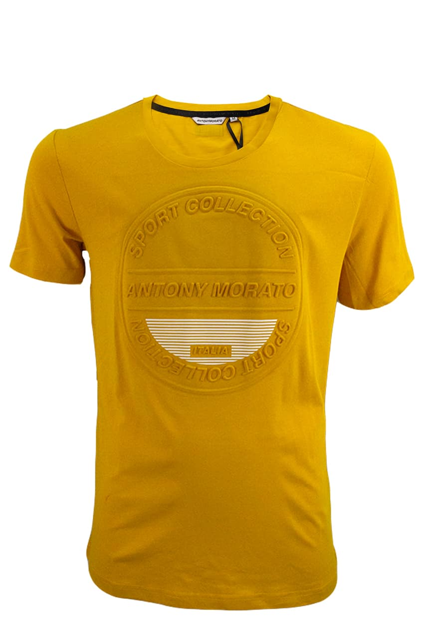Antony Morato T-Shirt Yellow Sport Collection