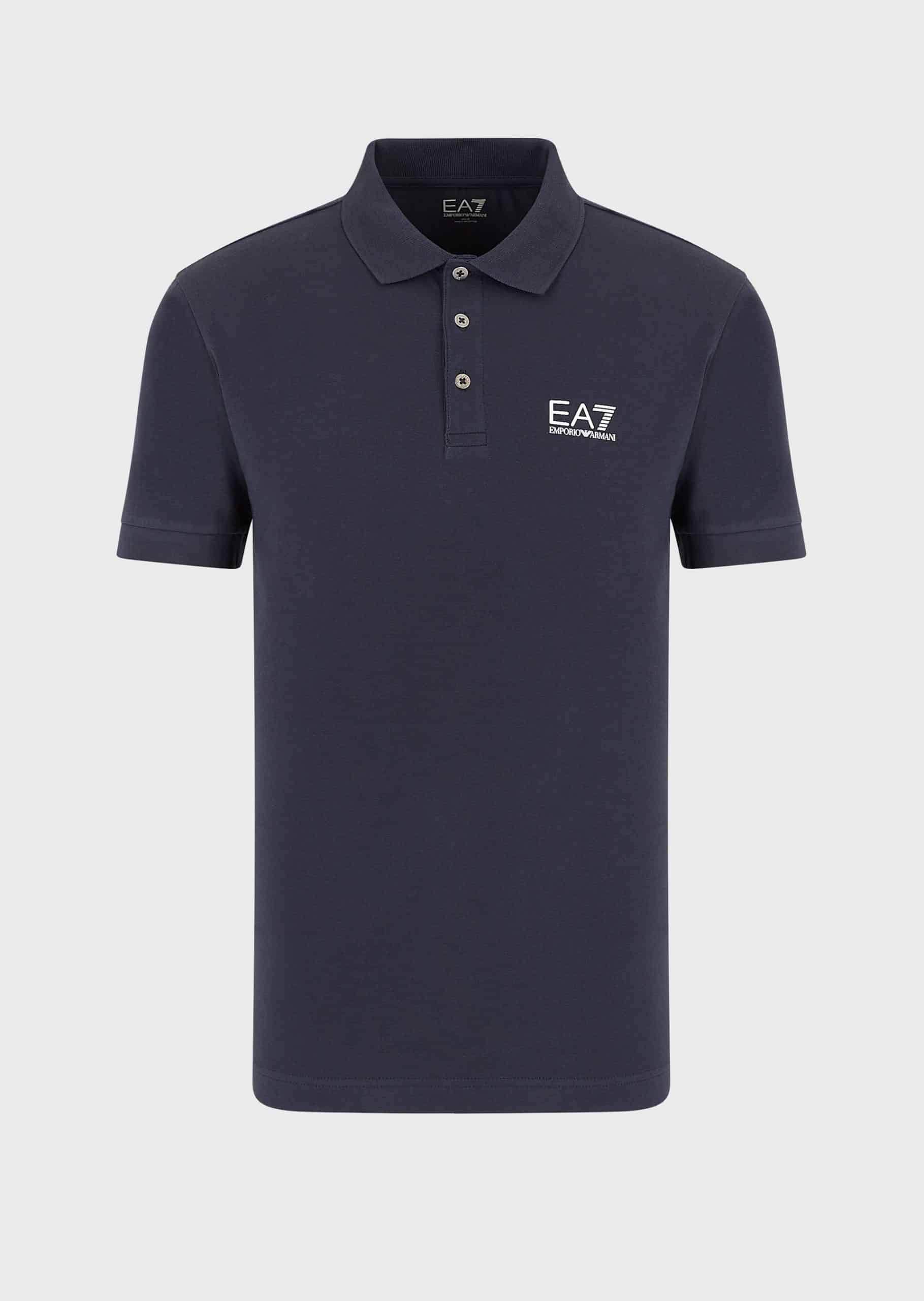 Armani EA7 Polo With Logo