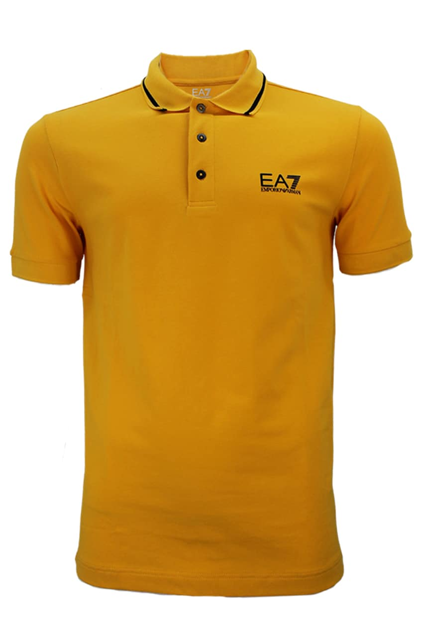 Armani EA7 Polo Yellow