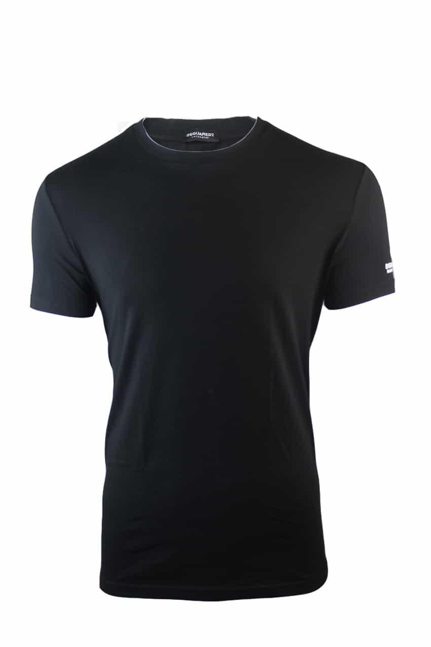 Dsquared Basic T-Shirt Black
