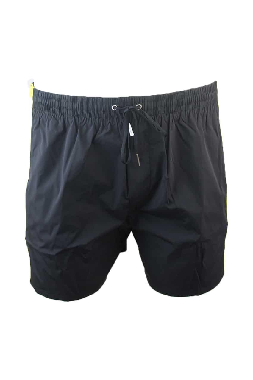 Dsquared Swimshort Black Logotape