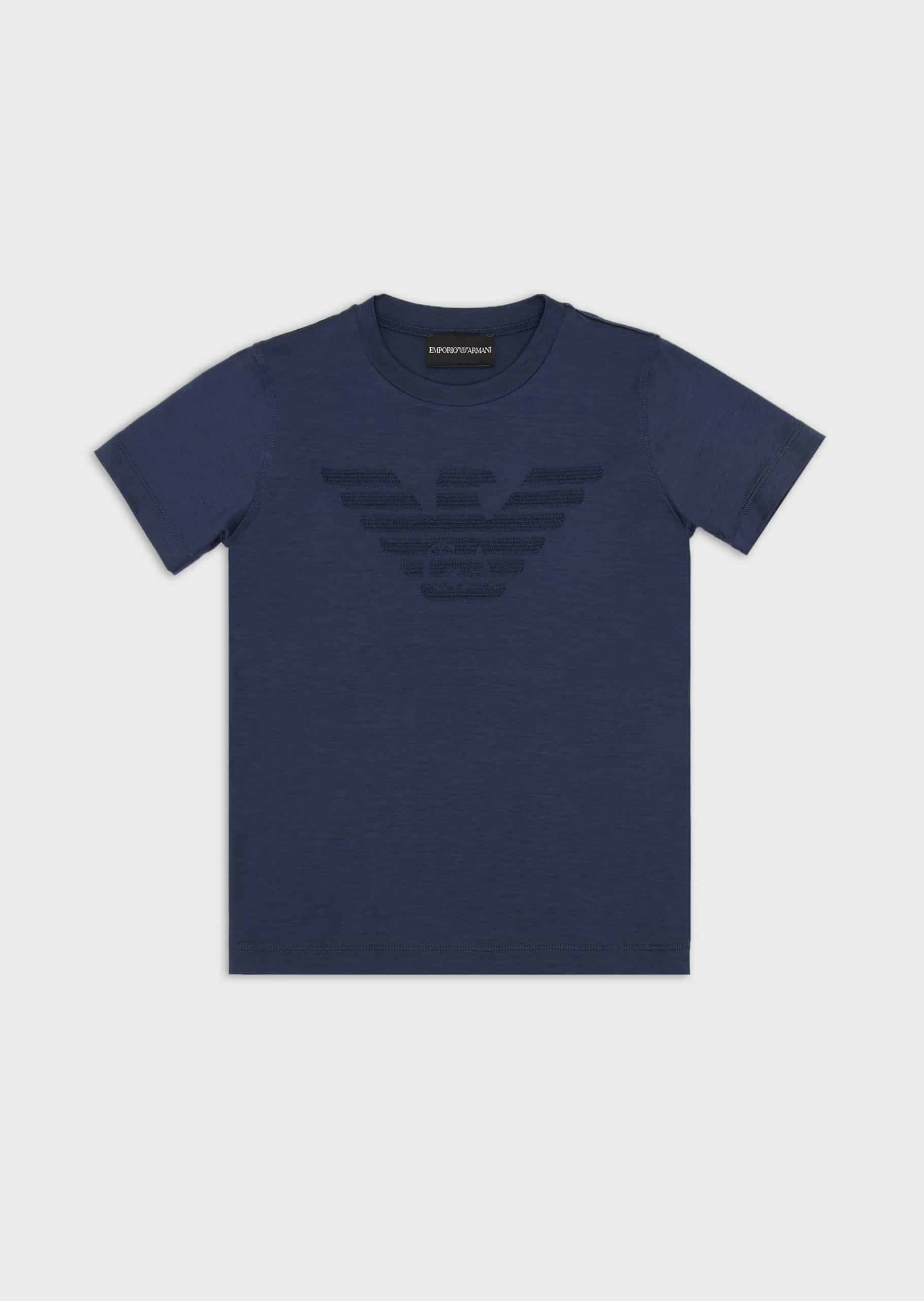 Emporio Armani T-Shirt With Logo Navy