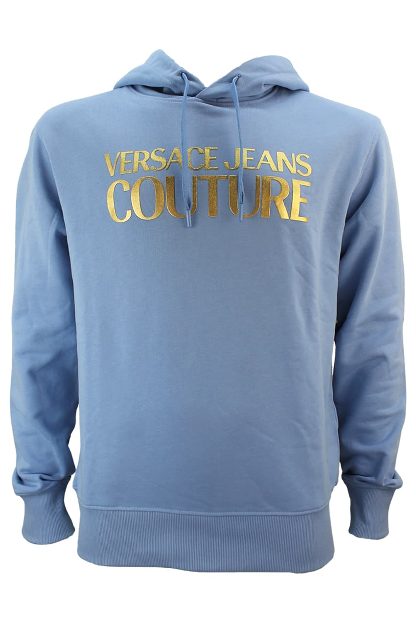 Versace Jeans Couture Hoodie WUP306 Blue