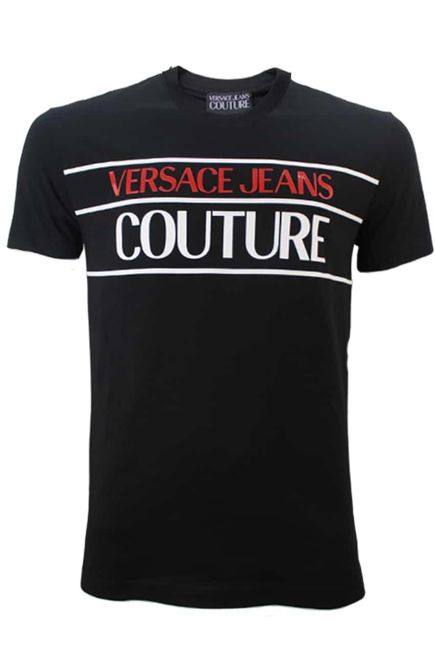 Versace Jeans Couture T-Shirt Zwart