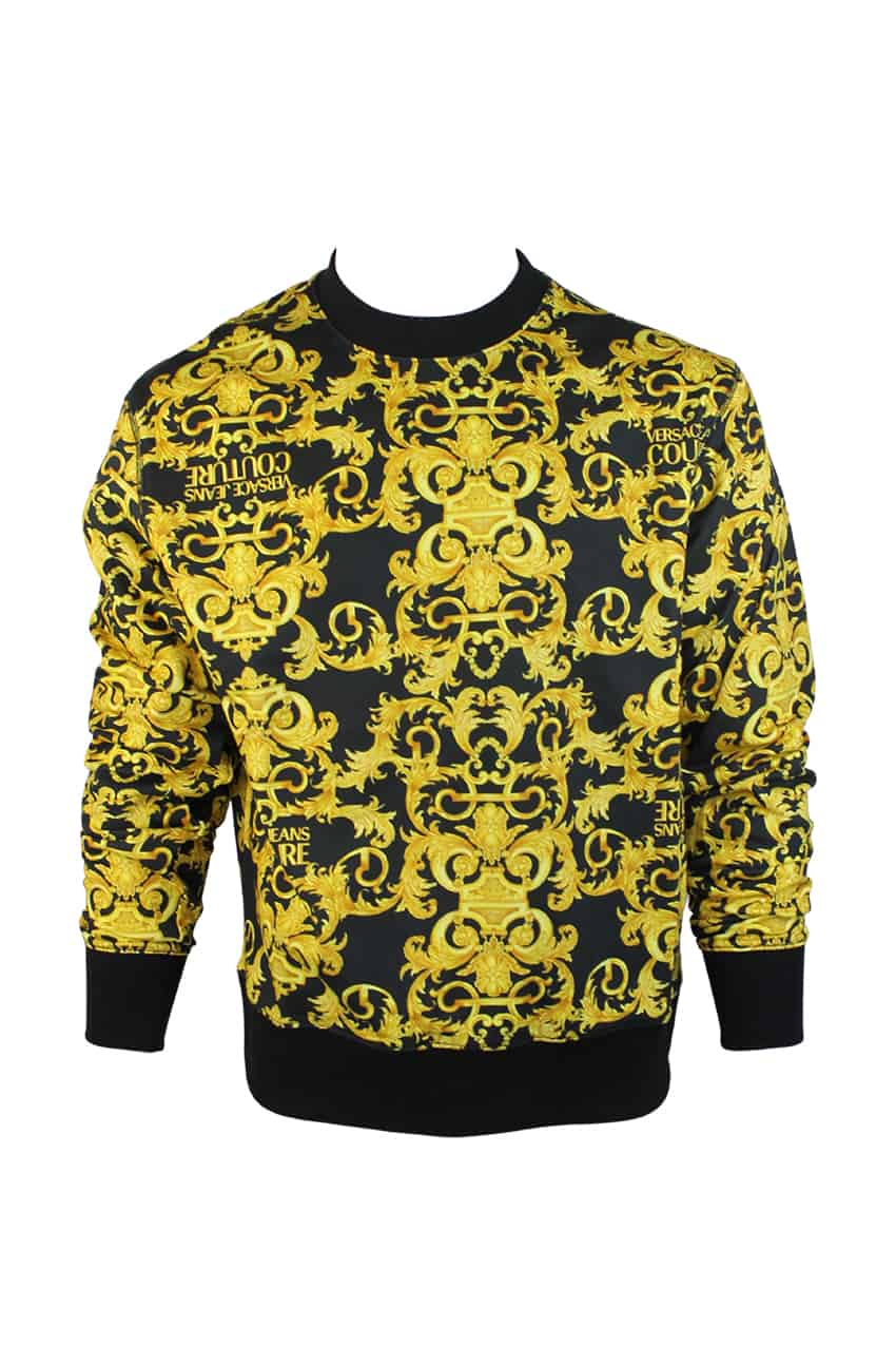 Versace Jeans Couture Sweater Barokprint
