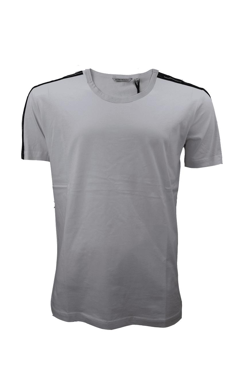 Antony Morato T-Shirt Met Logotape Wit