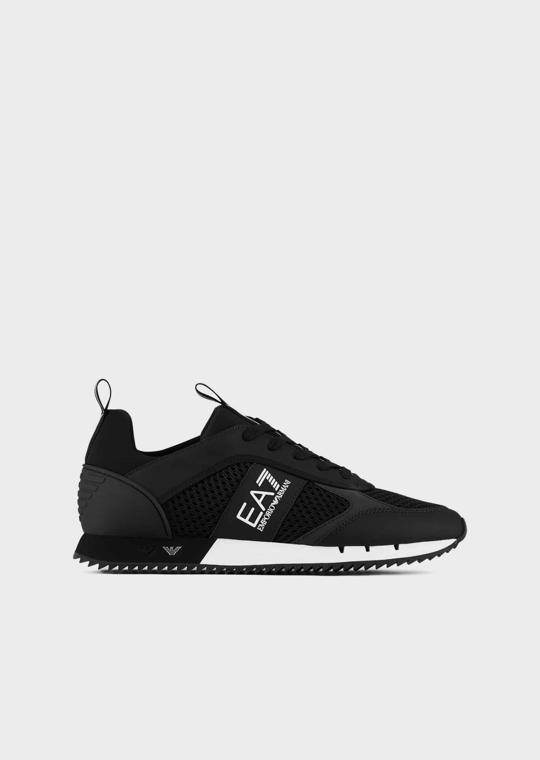 Armani EA7 Black&White Laces Sneakers