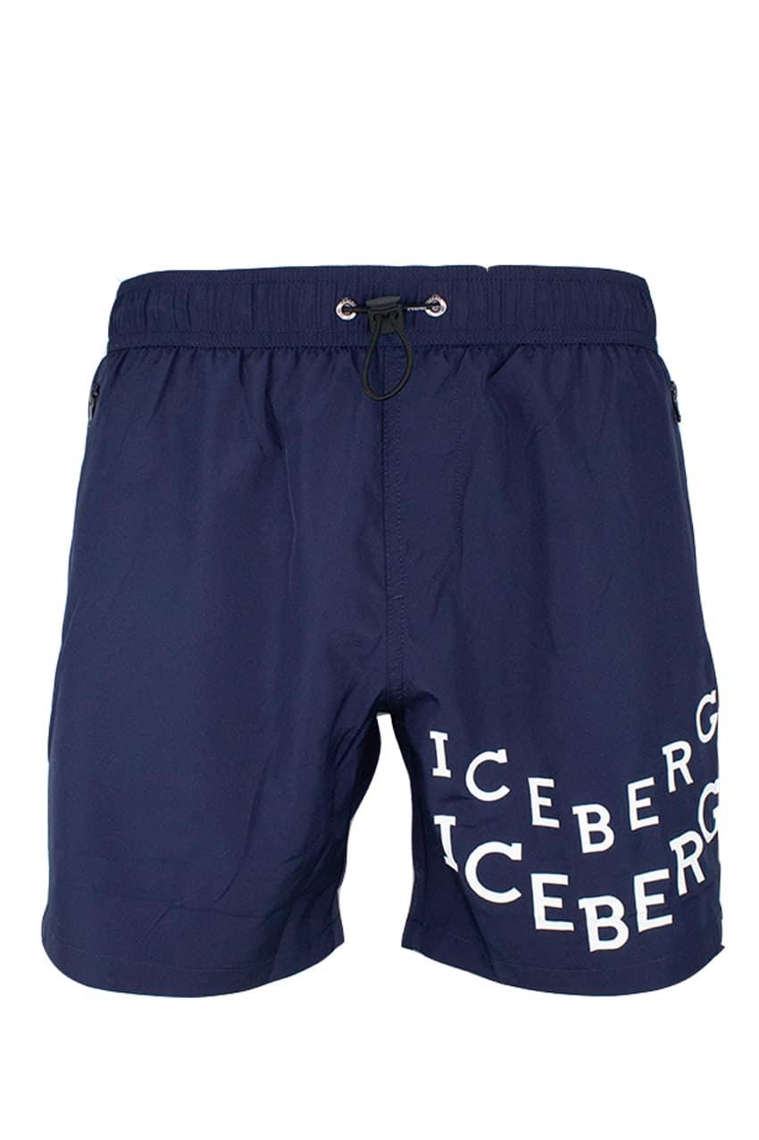 ICEBERG Swim Short Navy