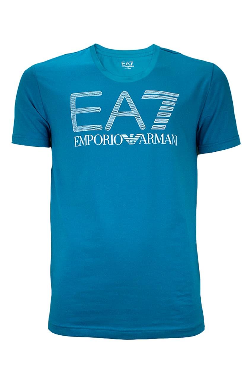 Emporio Armani EA7 T-Shirt Enamel Blue