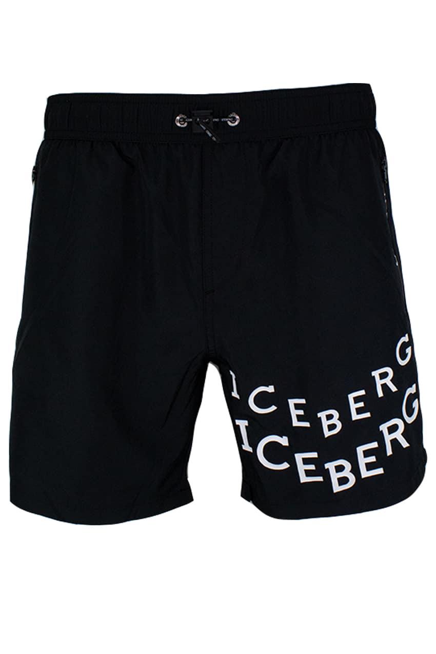 ICEBERG Swim Short Black