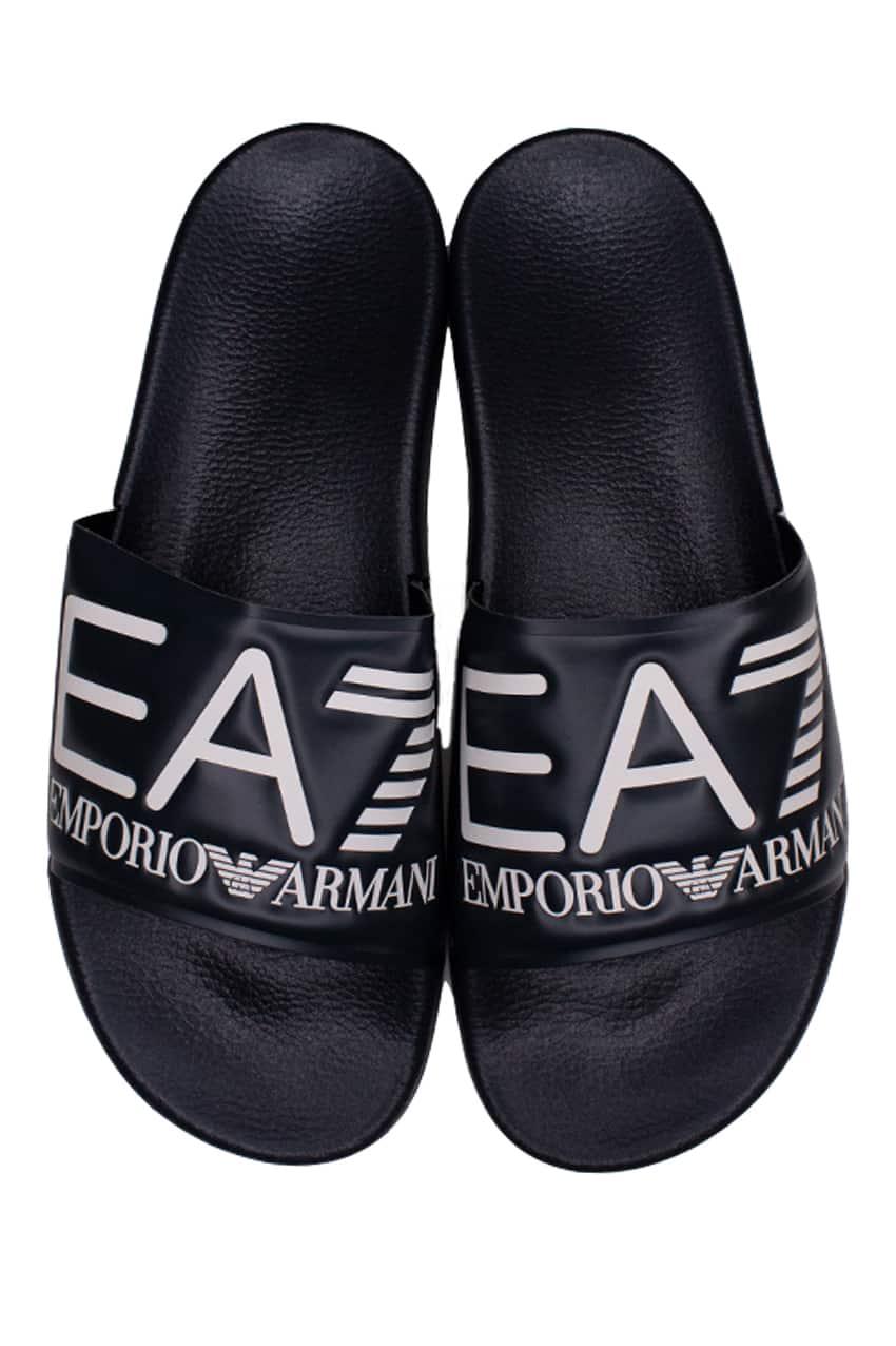 Emporio Armani EA7 Badslipper Navy