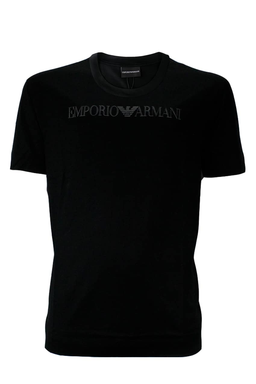 Emporio Armani T-Shirt With Logo Black