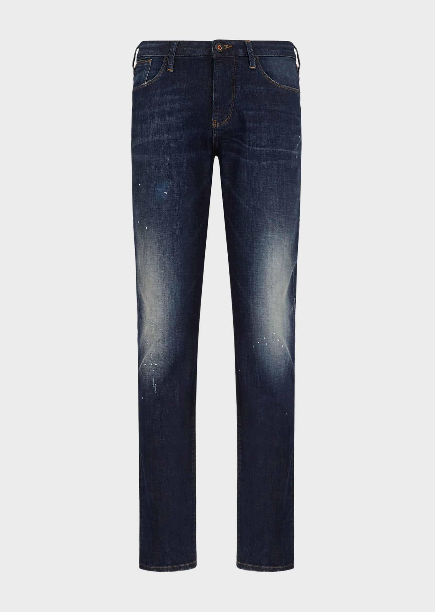 Emporio Armani Jeans Dark Denim Worn