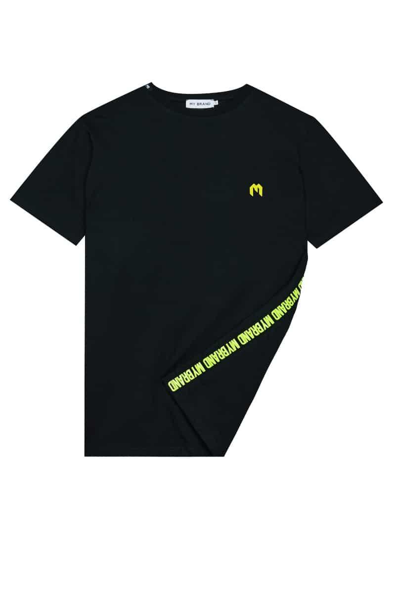 My Brand Logo T-Shirt Black/Yellow