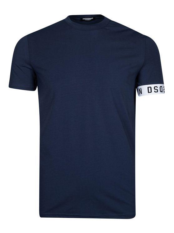 Dsquared2 Round Neck T-Shirt Navy