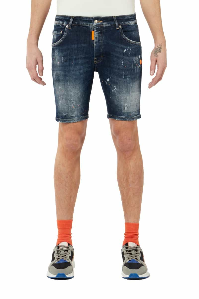 My Brand Neon Orange Jeans Short
