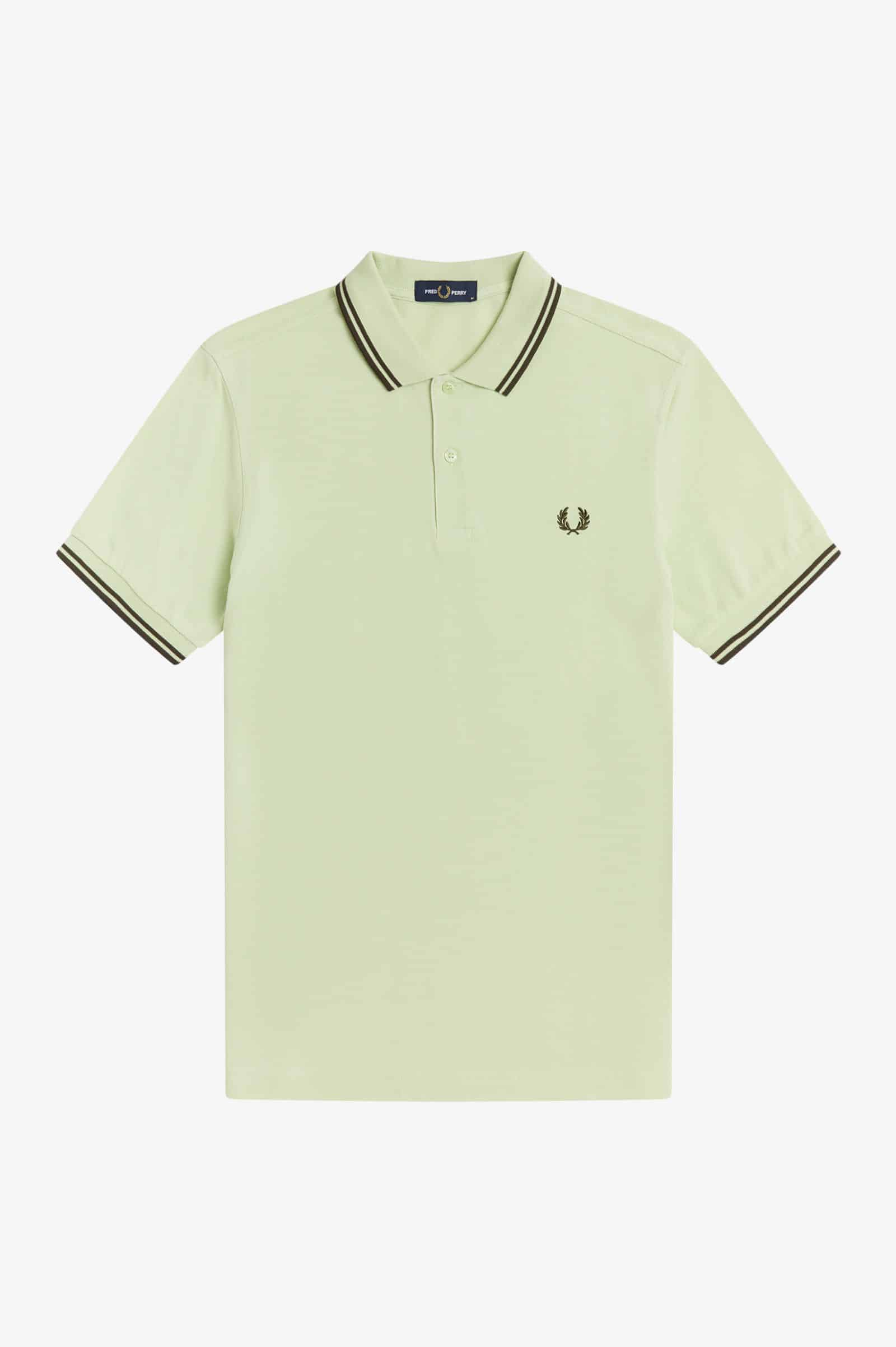 Fred Perry Twin Tipped Polo Willow