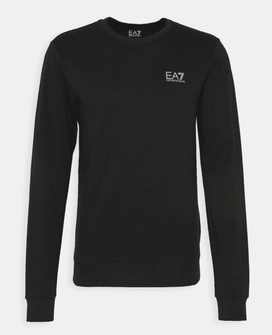Armani EA7 Sweatshirt Black Gold