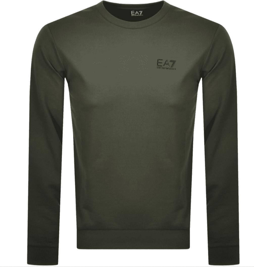 Armani EA7 Sweatshirt Climbing Ivy