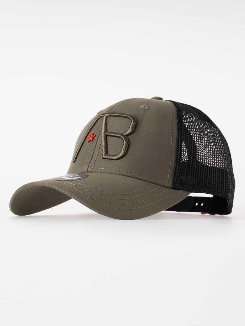 AB Lifestyle Retro Trucker Cap Army Green