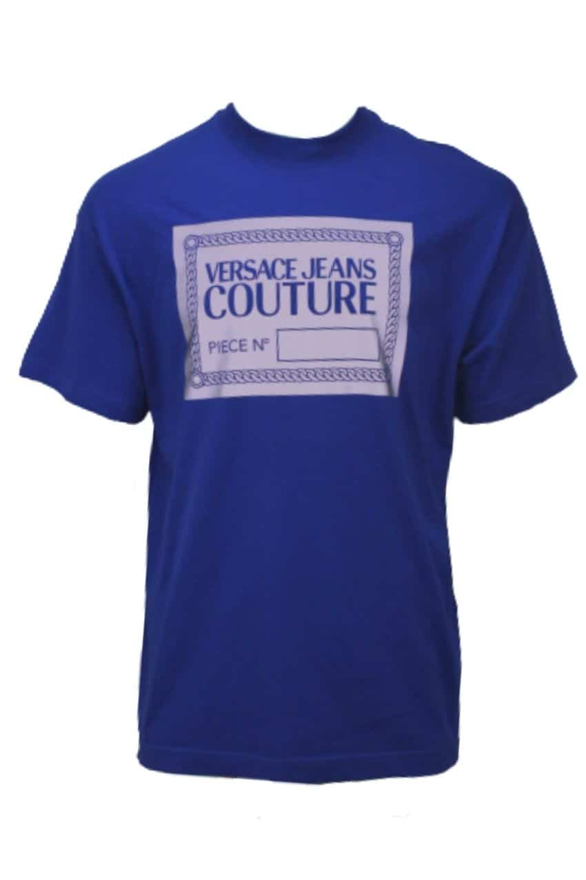 Versace Jeans Couture T-Shirt Reflectiv Blue
